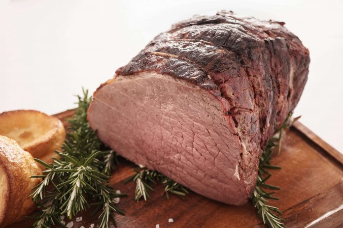 Slow Cooked Silverside Beef