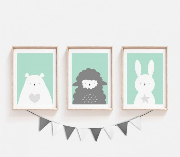 Animal Prints for a nursery