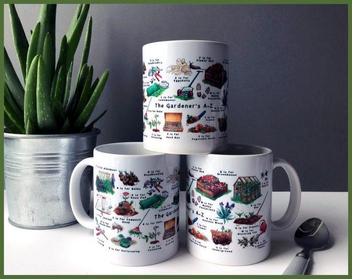 Gardeners A to Z Mug