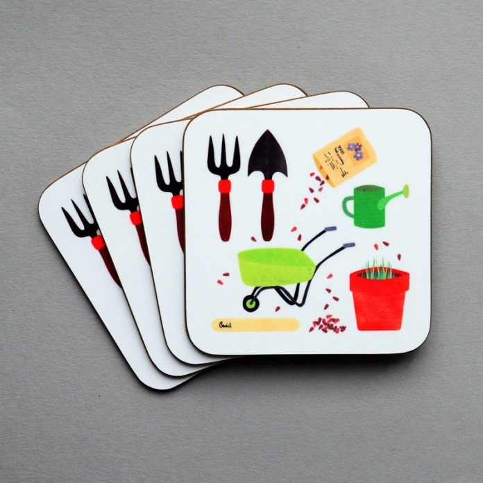 Coasters For a Gardener