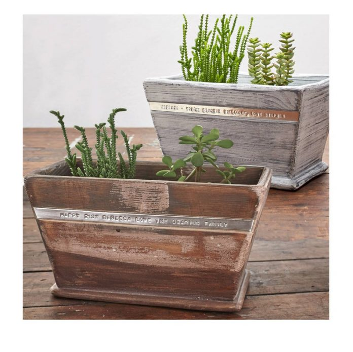 Wooden Pot Planter